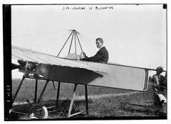 J.M. Johnson in Bleriotype [plane]  (LOC) (The Library of Congress) Tags: portrait usa man sport america plane vintage airplane aircraft aviation flight johnson libraryofcongress 1910s sporting grassland propeller aviator exposed bleriot monoplane historyofflight xmlns:dc=httppurlorgdcelements11 dc:identifier=httphdllocgovlocpnpggbain09349 earlyaeronautics bleriotype bleriotmonoplane