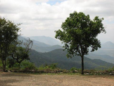 scenery b r hills