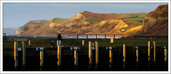 At One Point In Time (Finntasia old) Tags: world seascape heritage landscape pier ancient famous dorset jurassic fossils westbay cretaceous jurassiccoast historc infinestyle finntasia brisport jurassicpier nigelfinn