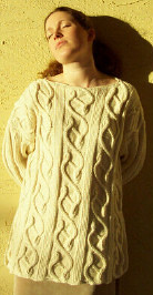 Dancing Vines sweater