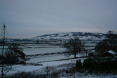 View of Bredon (Phil Hartell) Tags: winter snow cold ice nature countryside frozen frost wildlife gloucestershire