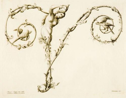 Mauro Poggi 1750 Figural letter
