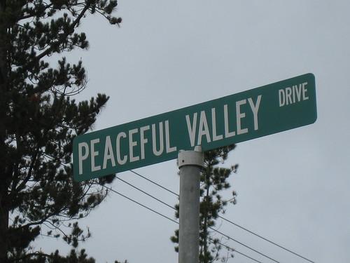 Too funny.  Street in Santa Cruz