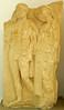 Relleu funerari amb el mite d'Hèracles i Alcestis, Museu de Cirene