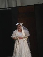 Joanna Stephens as the Ghost of Miss Havisham
