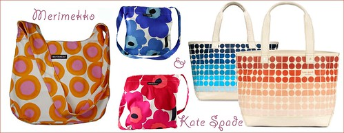 colorful spring pattern bags