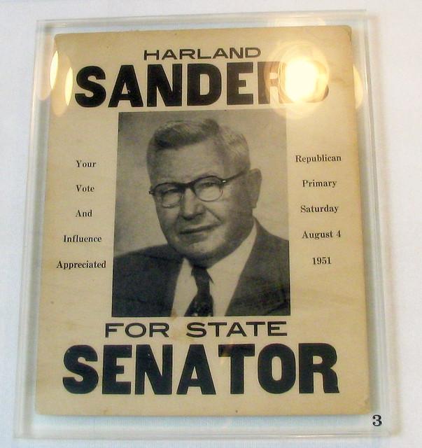 Col. Sanders for Senate