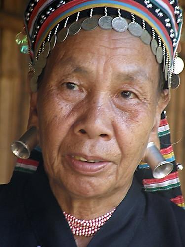 """""""Big ear"""" tribe member near Chiang Mai"""