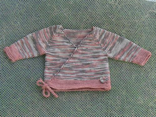 f5d7420b8749 Stitchy Mama Handknits  0-3 month Emily Rose Seamless Baby Kimono