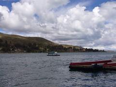 La Paz bus barque lac