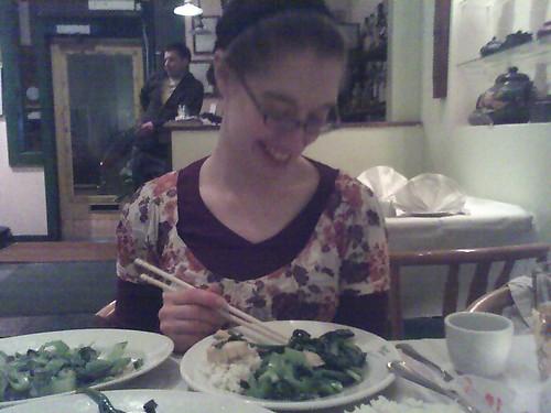 Amelia at Mustard Greens