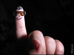 Mini-dedo con lentes