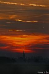 Leunen (Jan Linskens) Tags: church landscape zonsondergang sundown kerk landschap leunen janlinskens