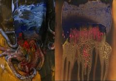 squid. (Alyssa Tanchajja) Tags: art painting squid recreation yvesklein firepainting