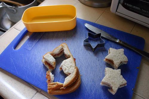 Bento Lunch Prep: Scraps