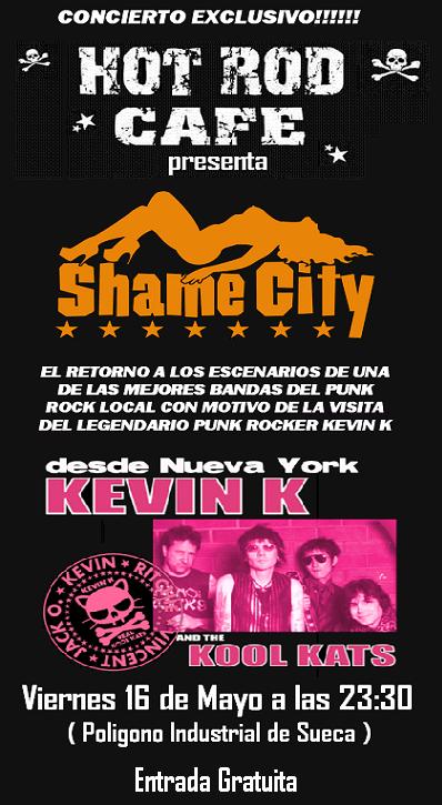 Shame City + Kevin K