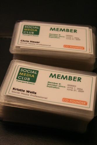 Social Media Club Member Kits