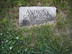 Anthony Gallahger gravemarker 2 (Marion Doss) Tags: cemetery headstone tombstone kansas carbondale gravemarker osagecounty gallahger