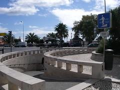 Rampa de acesso à Estação de comboios do Estoril