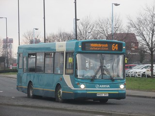 Arriva North East 1103 W469XKX Newport Rd, Middlesbrough on 64 (1280x960)