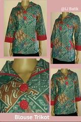 New Arrival!! Original Batik Pekalongan Indonesia  ✔Limited Edition ✔Available on store  BLUS TRIKOT Material : Katun Primis+furing press Size        : L Color      : on model Price      : IDR 350k  Contact & Online Order : ☎Phone/Line/w.a/Telegram +62897 (indahjaya_batik) Tags: trendbatik batikindonesia batikupdate bajubatik ijbatik batikpekalongan batik batikhalus blouse kainbatik blus batikjourney dressbatik busanabatik dress