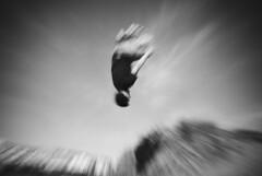 Front Flip (jon teague) Tags: motion blur sports jump jumping movement jon cornwall zoom extreme aaron free running front flip freerunning burst mead stunt parkour bude teague