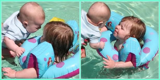 Swimming Sibs