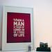 Samuel Johnson 'Tired of London, tired of life' Poster Framed