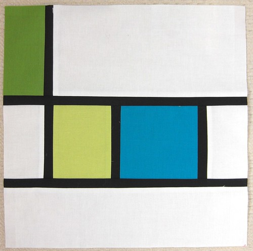 Mondrian block for Sarah