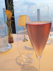Pink Champagne by Tattinger