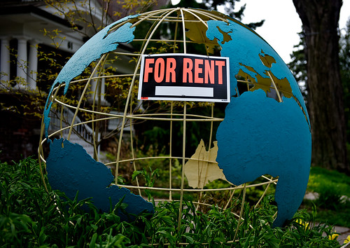 Planet for Rent by Flickr user J P D