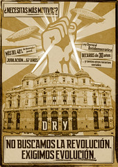 R-Evolucin (Iniciativa Discordiana G.N.T.) Tags: sol hail del real la calle puerta propaganda pueblo dry 15 bilbao spanish revolution
