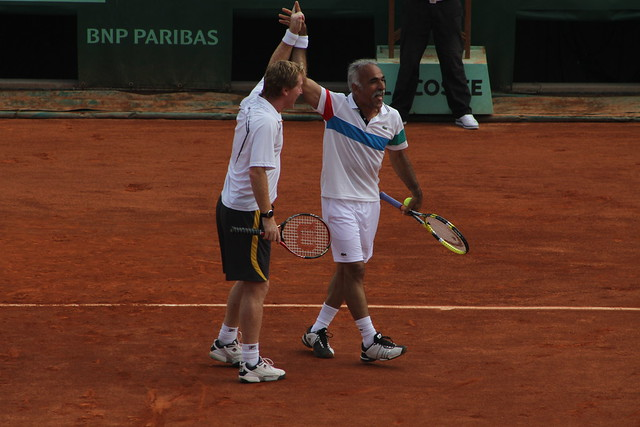 Mark Woodforde and Mansour Bahrami