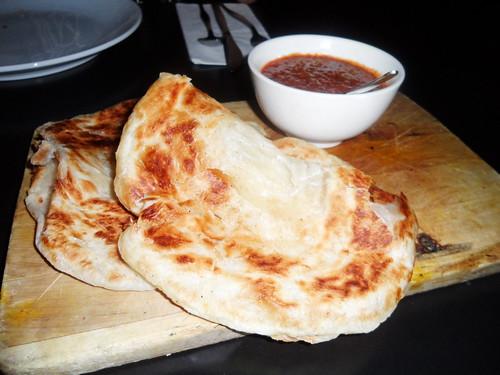 Ria Roti with Satay Sauce