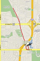 4 miles in Omaha