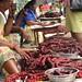 Chorizo at the Mapusa Friday Market