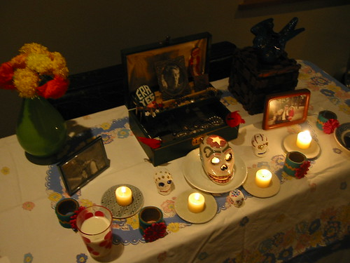Day of the Dead altar 2007