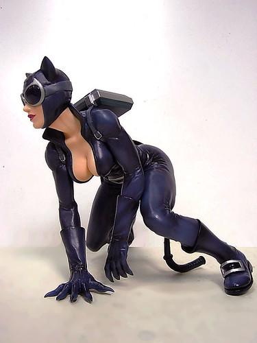 壽屋~蝙蝠俠系列~貓女PVC完成品 (自拍照片分享)