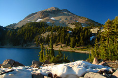 Lassen Peak (StevenLPierce) Tags: california mountain volcano nationalpark lassen lassenvolcanicnationalpark lassenpeak lakehelen