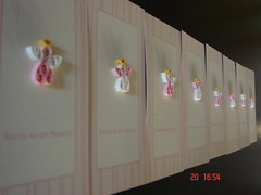 Angelitos 1 (Maluciana26) Tags: birthday original party art paper cards craft papel artesania angelitos quilling tarjetas bautizmo manualidad novedad quillingpaper novedoso rizosdepapel rizarte ayresdepilar espiralpapeleria quillingcards