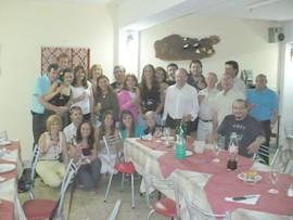 Integrantes de la Comisión Organizadora de la 52º Fiesta Nacional del Maní