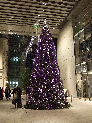 Christmass Illuminations 2007 in Marunouchi My Plaza