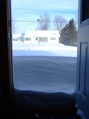 The front door we hardly use