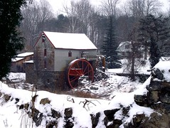 Old Mill (Lonnie Crotts) Tags: winter sony northcarolina dsc gristmill f707