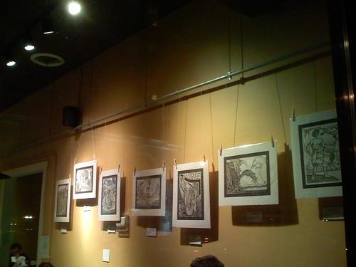 Montaño's drawings