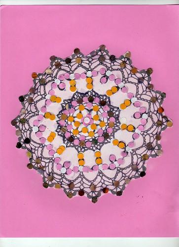 Jen Worden Art Challenge - Week 2 - Doilie