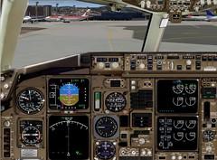 Eu e o Flight Simulator