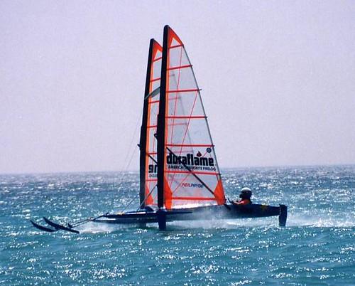 history speed boats sailing speedsailing