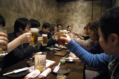 JJUG Cross Community Seminar 懇親会, 月の雫 秋葉原店