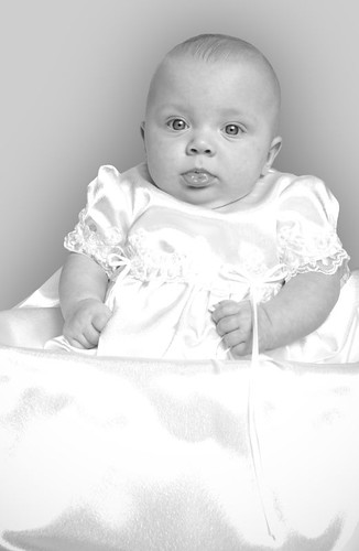 Granddaughter, 4 months old, taken 2008
